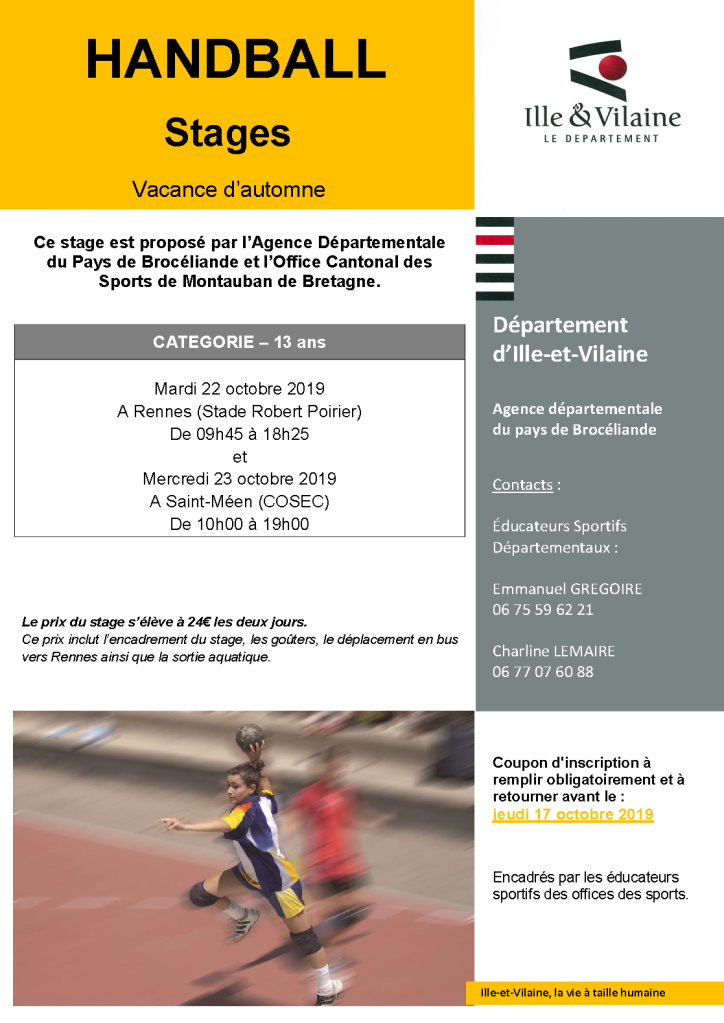 stage - 13 automne 2019